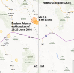 Duncan Earthquake Location - click to enlarge