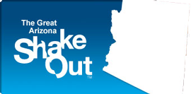 Millions of people will Drop, Cover, and Hold On at 10:17 a.m. on October 17th in the 2013 Great Arizona ShakeOut!