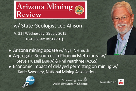 Watch the Arizona Mining Review!