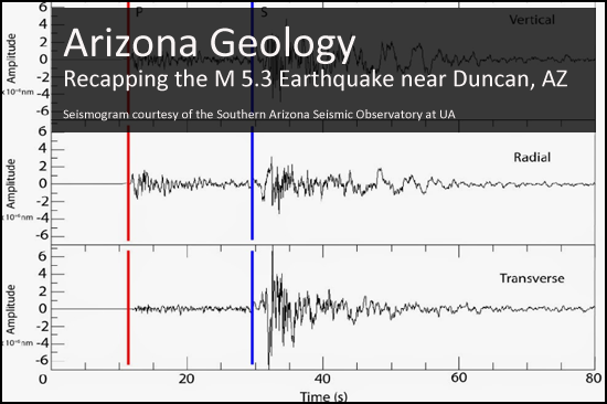 More about the Duncan Earthquake
